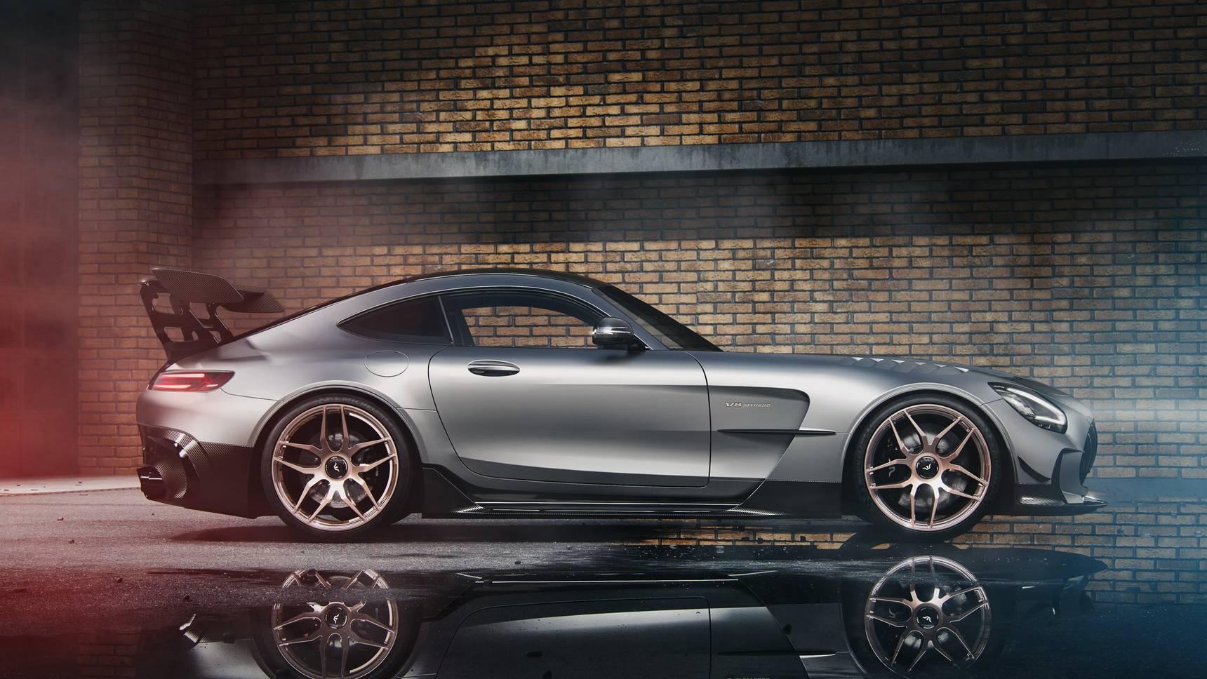 Mercedes-AMG GT Black Series: больше мощности и четыре гайки