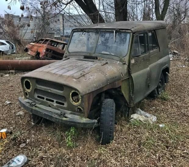 Киевское кладбище ретро-авто