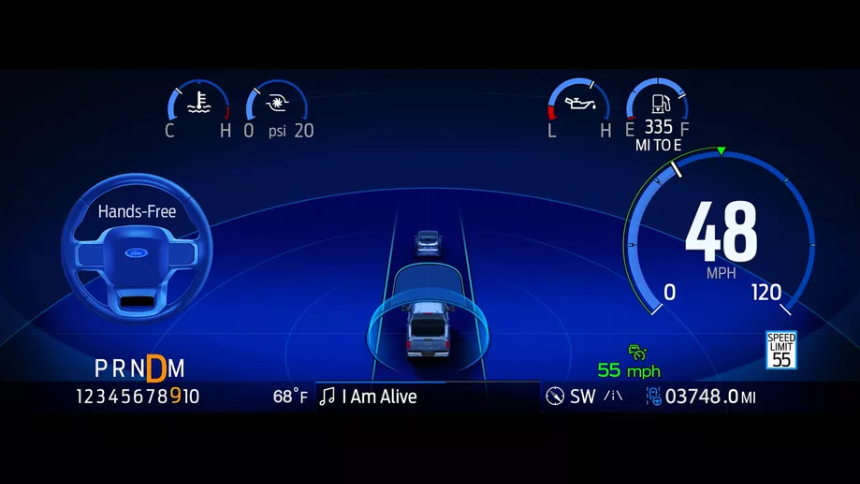 Ford представил полуавтопилот для шоссе. Он будет доступен по подписке