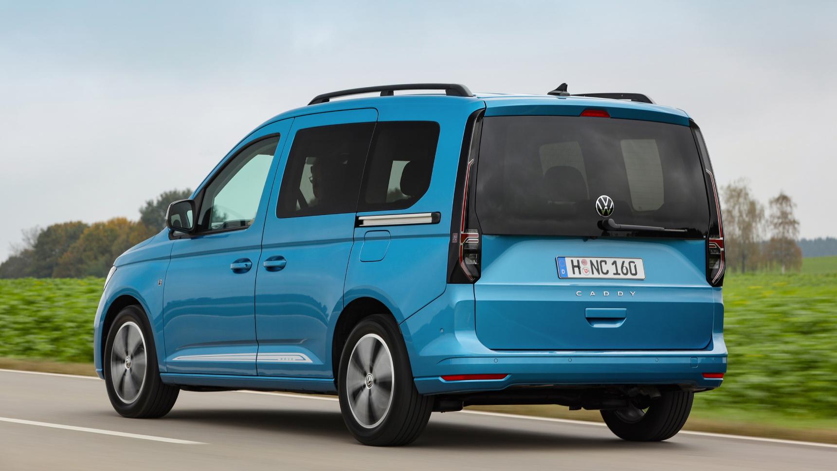 Объявлены российские цены на новый Volkswagen Caddy