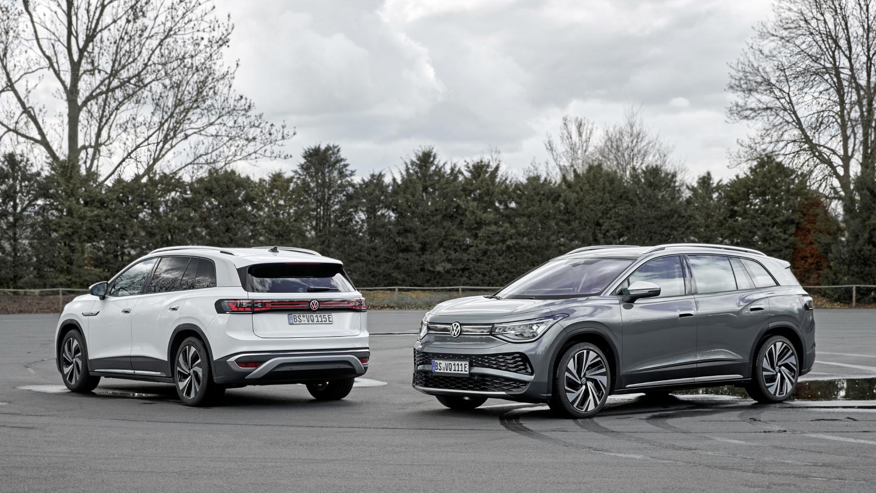 Представлен первый трехрядный электро-кросс Volkswagen
