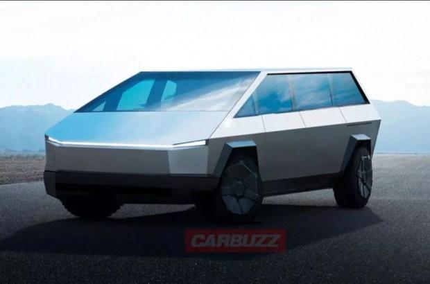 Tesla выпустит минивэн в стиле пикапа Cybertruck