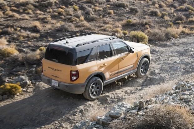 Ford Bronco Sport получил высокий рейтинг безопасности