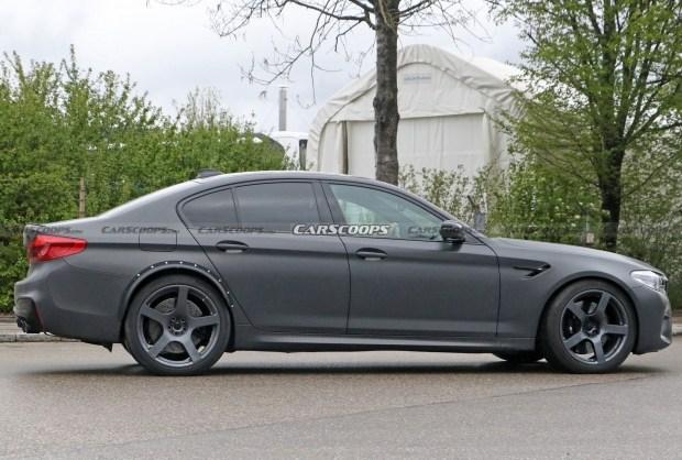 BMW тестирует загадочную M5