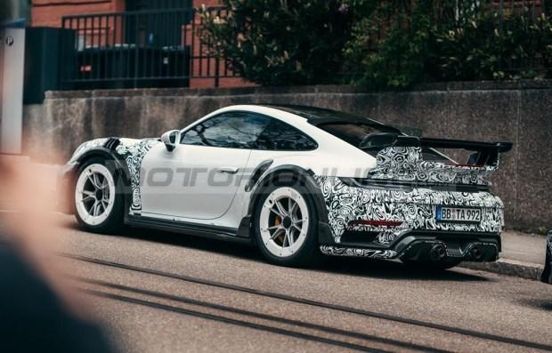 Techart готовит сумасшедший Porsche 911