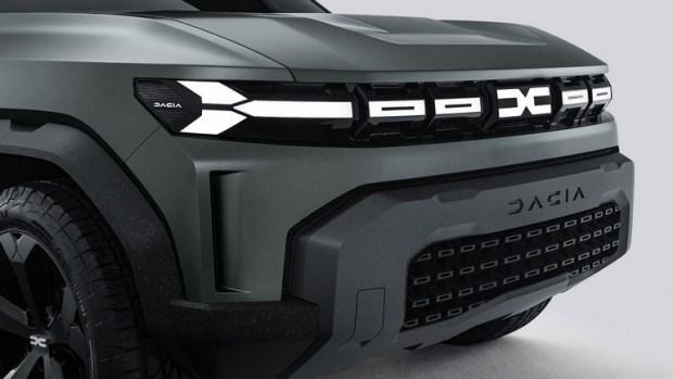 Показан бюджетный кроссовер Dacia Bigster 2022