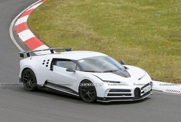 Самый мощный Bugatti проходит финальные тесты