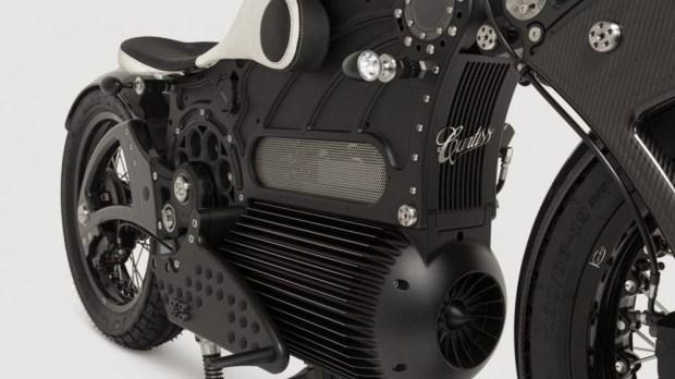 Электроцикл Curtiss Motors One