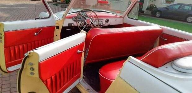 В Германии нашли уникальную «Волгу» кабриолет