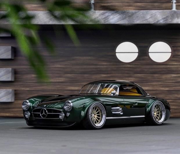 Винтажный Mercedes 300 SL превратили в рестамод
