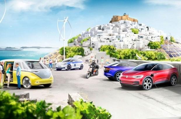 «Зеленые» VW, для «умного зеленого острова»