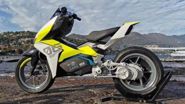 Электрический хай-тек: скутер Felo FW06 с электромотором и коробкой передач