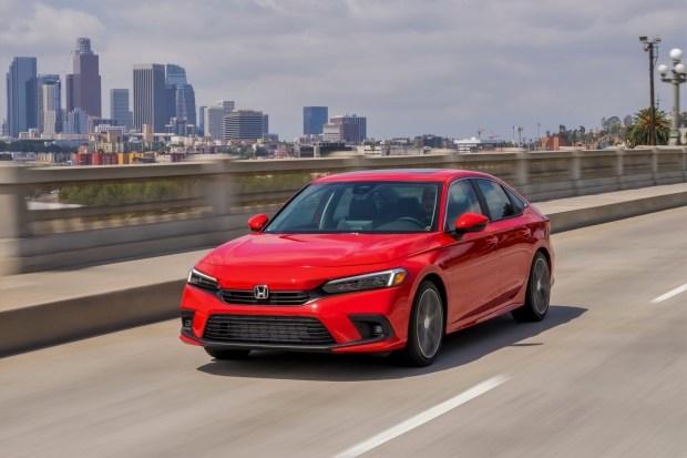 Известна цена самой дорогой Honda Civic 2022
