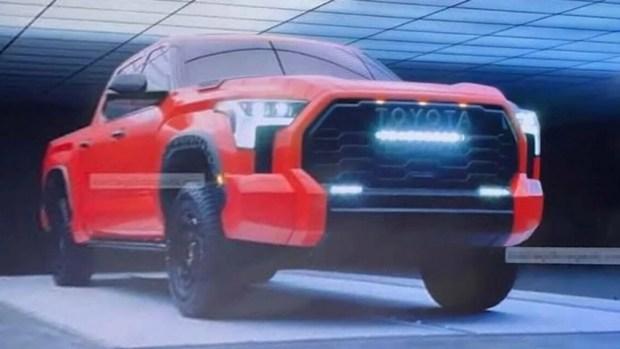 Рассекретили новую Toyota Tundra в самом «злом» исполнении