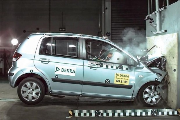 Ретро краш-тест Hyundai Getz