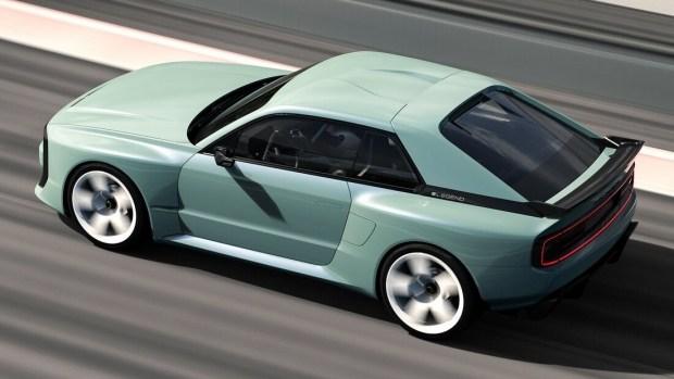 Немцы возродили культовый Audi quattro