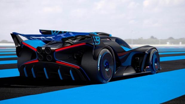 Первый электрокар Bugatti