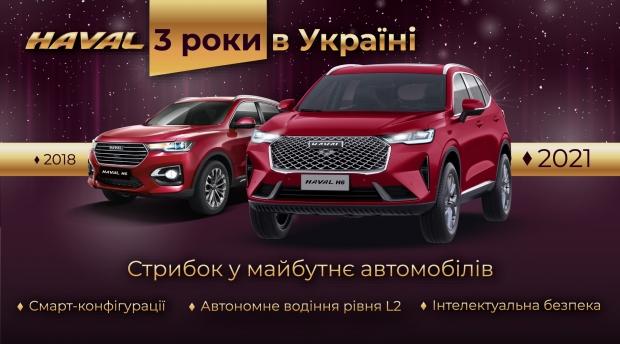 Стрибок у майбутнє автомобілів: як за 3 роки в Україні змінився бренд HAVAL
