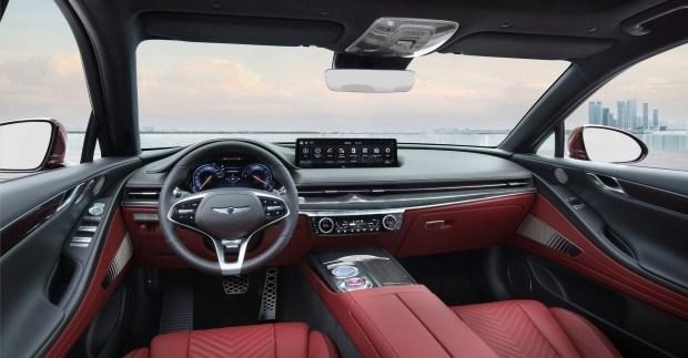 Бренд Genesis представил первые изображения люксового седана Genesis G80 Sport
