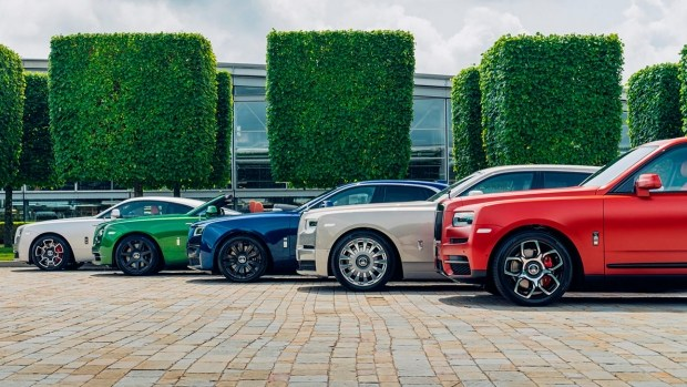 Rolls-Royce показал эксклюзивную коллекцию автомобилей