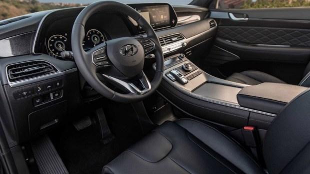 Обновленный Hyundai Palisade попался на фотошпионам