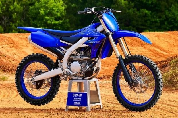 Обновленный кроссбайк Yamaha YZ250F
