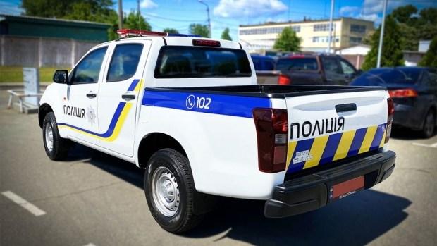 У полиции новая тачка - пикап