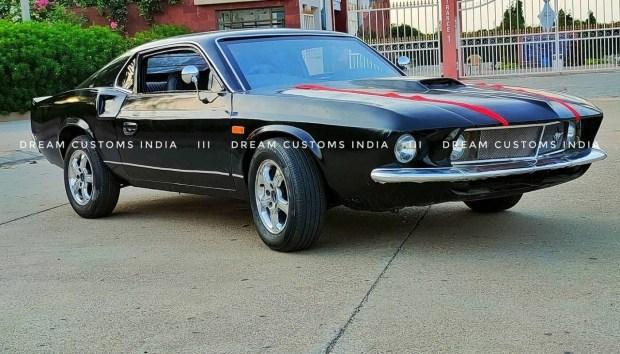 Классический Mustang на базе старого Hyundai Accent