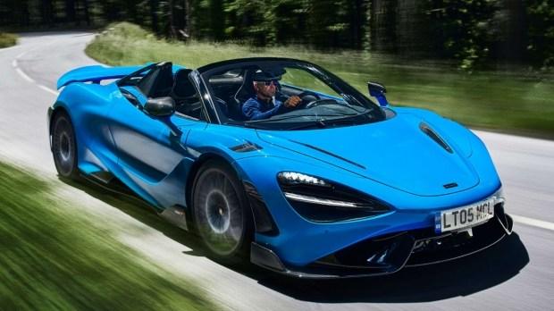 McLaren представил кабриолет на базе модели 765LT