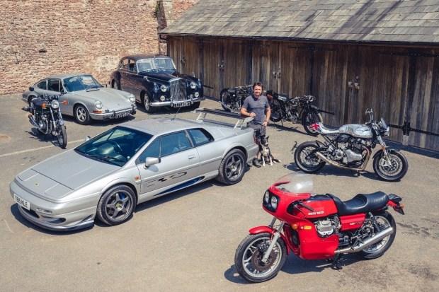 Экс-ведущий Top Gear распродаёт коллекцию автомобилей и мотоциклов