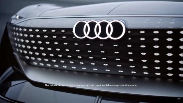 Audi раскрыла дату премьеры первого «сферического» электрокара