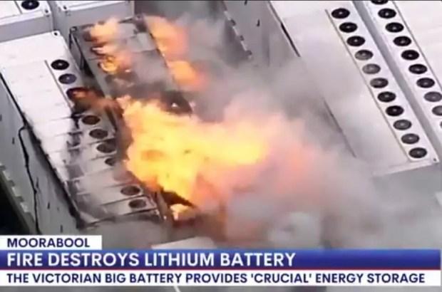 В Австралии загорелся 13-тонный аккумулятор Tesla Megapack