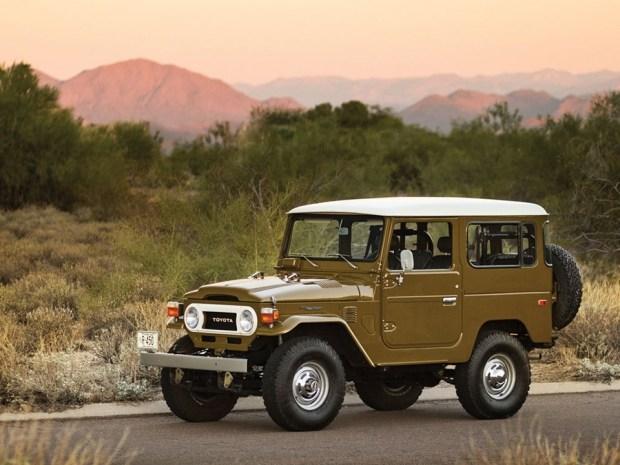 Компания Toyota начнет выпускать запчасти для внедорожников Land Cruiser 60-х годов