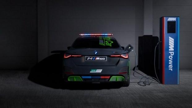 BMW выпустила электрический пейскар для MotoGP