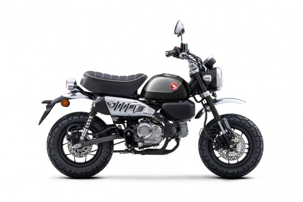 Honda модернизировала минибайк Monkey
