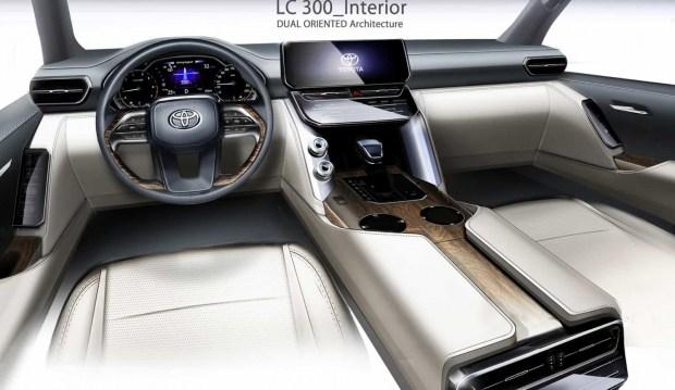 Toyota LC 300 должен был быть другим