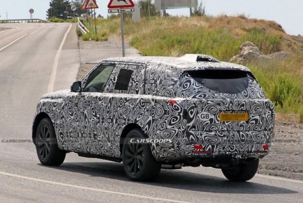 Гибридный Range Rover станет более эффективным