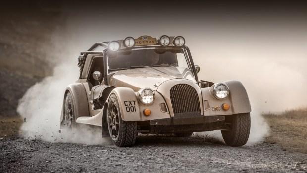 Morgan Plus Four CX-T для бездорожья