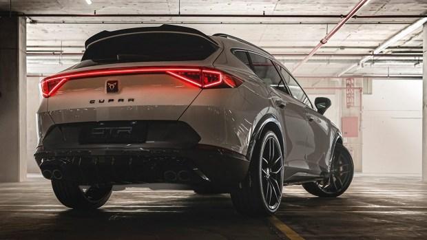 GTR Auto представил более радикальный образ CUPRA Formentor