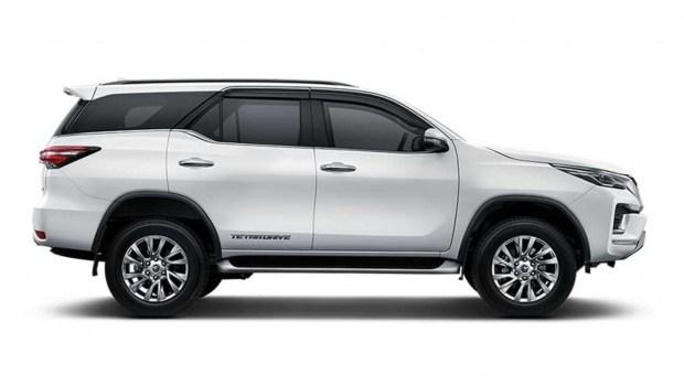 И эта туда же: Toyota Fortuner получила «спортивную» версию GR Sport