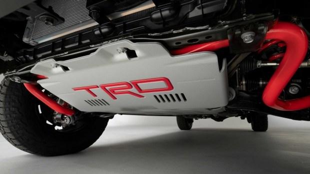 Как выглядит подвеска новой Toyota Tundra