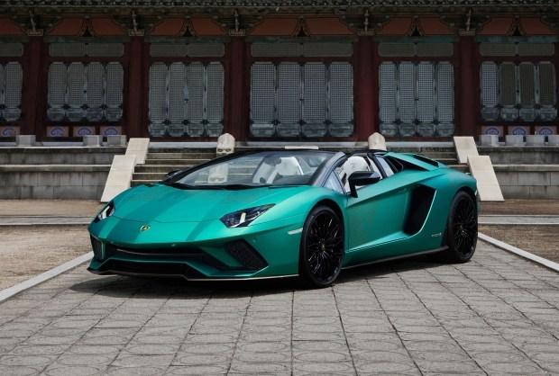 Lamborghini Aventador S Korean Special окажется редкостью