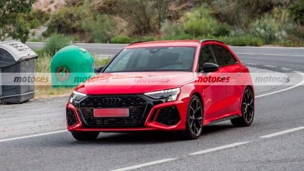 Новый Audi RS3 Sportback вышел на финальные испытания