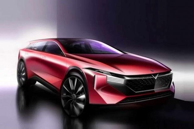 Новый китайский Nissan: первые фото и технические характеристики