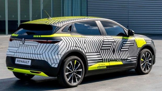 Раскрыли интерьер электрического Renault Megan E