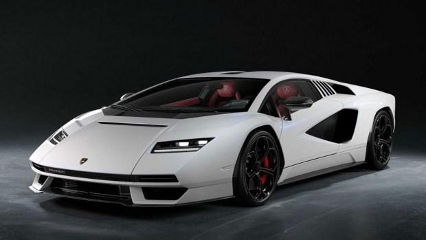 Реинкарнация Countach: Lamborghini представила новый суперкар