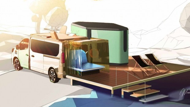 Renault показала 5-звездочный отель на колесах