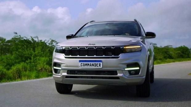 Представлена семиместная версия внедорожника Jeep Commander 2022 года