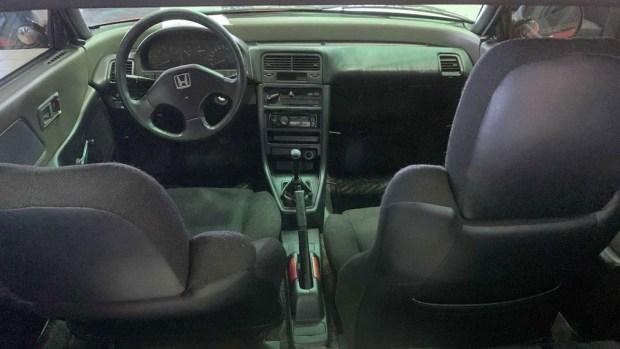 Дилер Honda сохранил купе CRX Si 1991 года с пробегом 1,6 млн км и «родным» мотором