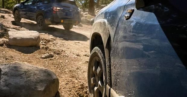 Вперёд по бездорожью: Subaru дразнит новым видео нового кроссовера Forester Wilderness